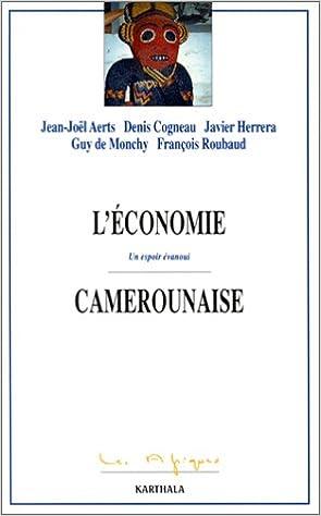 L'Économie camerounaise : Un espoir évanoui epub pdf