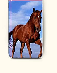 iPhone 6 Plus Case 5.5 Inches Red Horse Lifting Its Leg - Hard Back Plastic Case OOFIT Authentic by icecream design