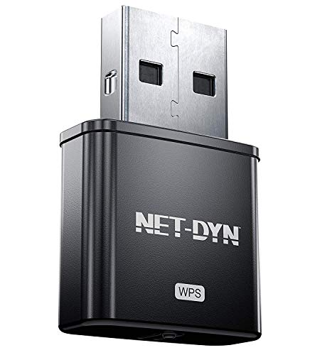 NET-DYN 300M USB WiFi Adapter Internal Antenna-300Mbps-Wireless Internet Dongle for PC Plus Mac
