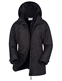 Mountain Warehouse Fell Womens 3 in 1 Spring Jacket - Water Resistant
