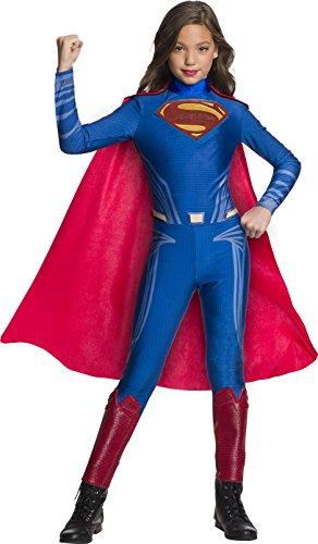 Jumpsuit Ruby (Rubie's Justice League Movie Child's Superman Jumpsuit Costume, Large)