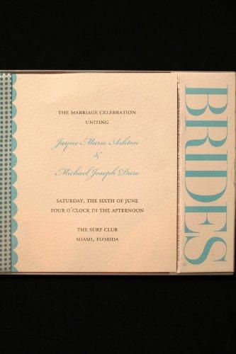 Bride's Printable Program Kit