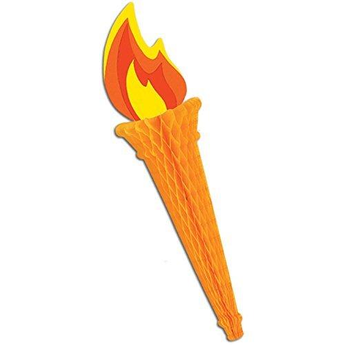Tissue Torch Party Accessory (1 Count) (1/pkg) Pkg/3 -
