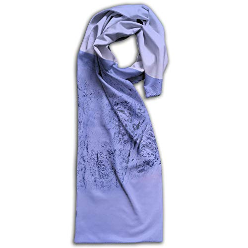 Mount Everest Snow Scarf Fashion Pattern Printed Can Be Used As Shawl,Headscarf and Wrap for Women Men,Teens