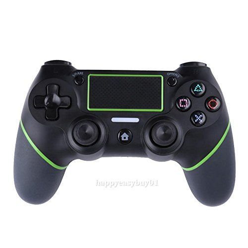 Shalleen Black Bluetooth Wireless Controller Gamepad Joystick for Sony PS4 Playstation 4 (Samsung Galaxy Mega 2 Headphones)