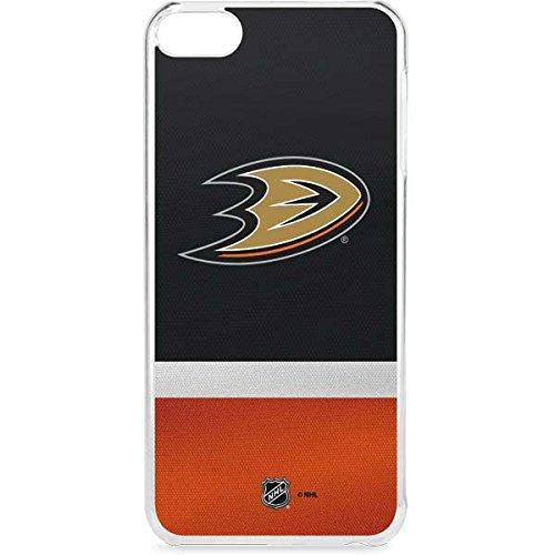 (Skinit NHL Anaheim Ducks iPod Touch 6th Gen LeNu Case - Anaheim Ducks Jersey Design - Premium Vinyl Decal Phone Cover)