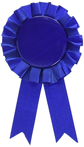 Award Ribbon (blue) Party Accessory  (1 count) (1/Pkg) ()