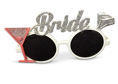 Unique Bachelorette Party Favor | Unique Photobooth Prop Sunglasses for Bride to (Bride To Be Sunglasses)