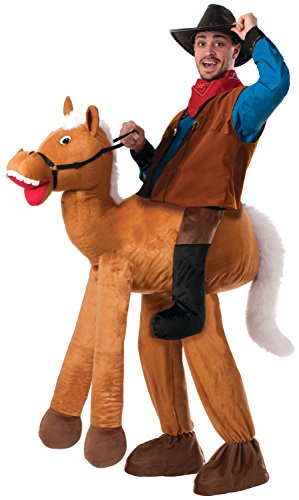 Forum Novelties Men's Ride A Horse Costume, Brown, Standard