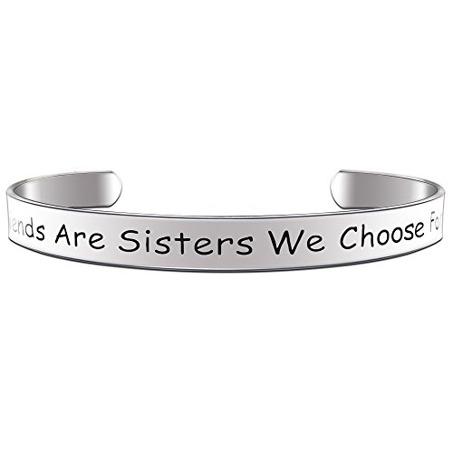 Paris Selection Girlfriends Are Sisters We Choose For Ourselves Best Friend Bracelet