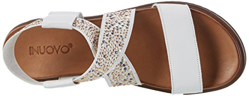 Inuovo 7153 - Tacones Mujer Weiß (White)