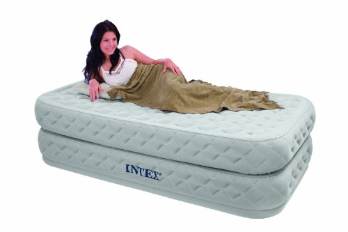 Intex Supreme Air-Flow Twin Airbed Kit, Outdoor Stuffs