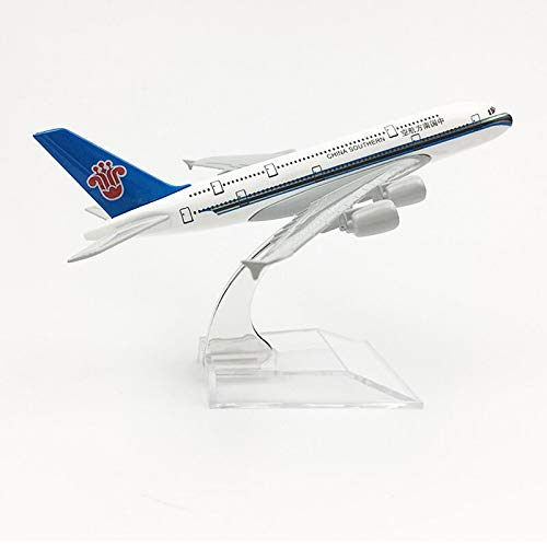 - Greensun China Southern Airlines Aeroplane Model Airbus A380 Airplane 16CM Metal Alloy diecast 1:400 Airplane Model Toys Collectible Gift