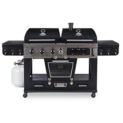Pit Boss Memphis Ultimate 4-in-1 LP Gas, Charcoal, Smoker