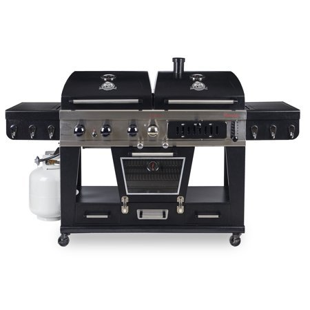 Pit Boss Memphis Ultimate 4-in-1 LP Gas, Charcoal, Smoker by Pit Boss