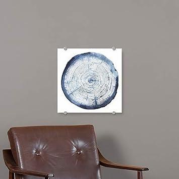 Grace PoppTree Ring Overlay I Premium Acrylic Sign CGSignLab 16x16