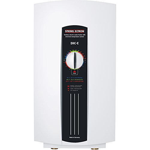 Stiebel Eltron DHC-E12 E Series 208/240 Volt 9000/12000 Watt Electric Tankless Water Heater by Stiebel Eltron