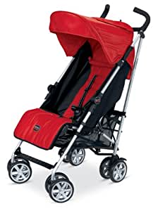 Britax B-Nimble Stroller, Red (Prior Model)
