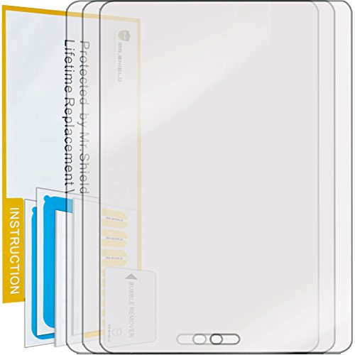 Mr Shield for Samsung Galaxy Tab S2 9.7 / Galaxy Tab S3 9.7 Premium Clear Screen Protector [3-Pack] with Lifetime Replacement Warranty