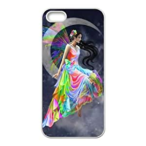 Hjqi - Personalized Fairy Cell Phone Case, Fairy Customized Case for iPhone 5,5G,5S