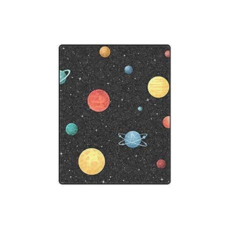Cartone animato spazio splendente sistema solare pianeta inverno