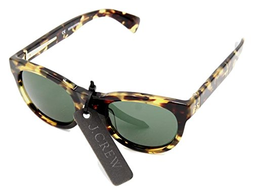 faf564a99095a J Crew Sam Sunglasses in Tokyo Tortoise Style E3726 New  Amazon.ca   Clothing   Accessories