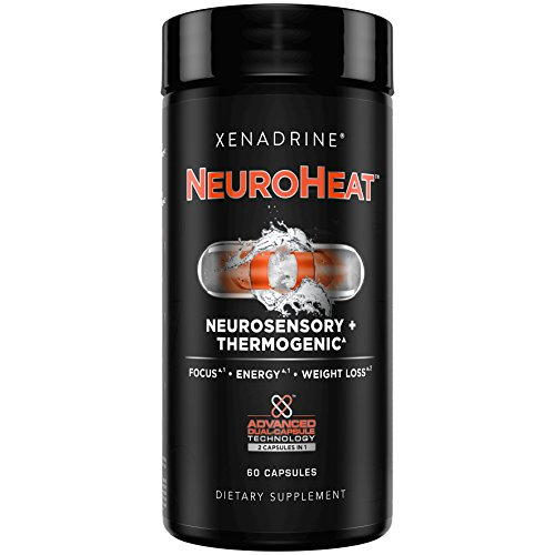Xenadrine Neuroheat, Neurosensory & Thermogenic, 60 Count