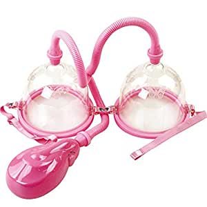 XuBa Breast Enlarge Pump Breast Massager Enhancer Large Size Electric Breast Enlargement Pump with Twin Cups
