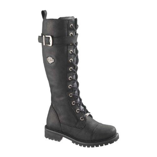 Tall Motorcycle Boots - 1