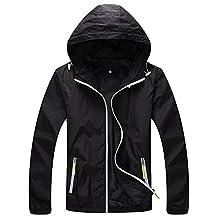 Tina Silvergray Double Layered Night Safe Reflective Windbreaker Hooded Jacket for Women