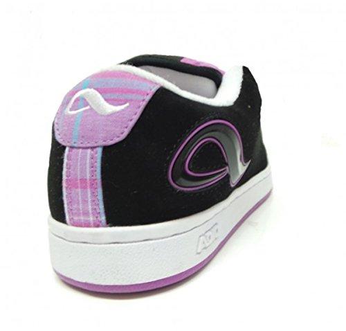 Adio Skateboard Damen Schuhe Black / Purple Caro girls