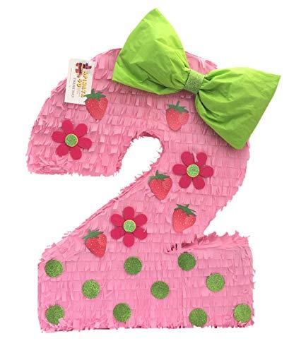 (APINATA4U Strawberry Theme Number Two Pinata 23