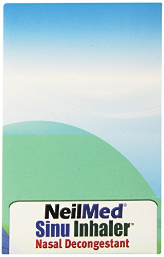 Neilmed Sinu Inhaler Nasal Decongestant, 0.007 Ounce