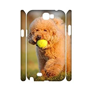 DIY Protective Snap-on Hard Back 3D Case Cover for Samsung Galaxy Note 2 N7100 with Cute puppy
