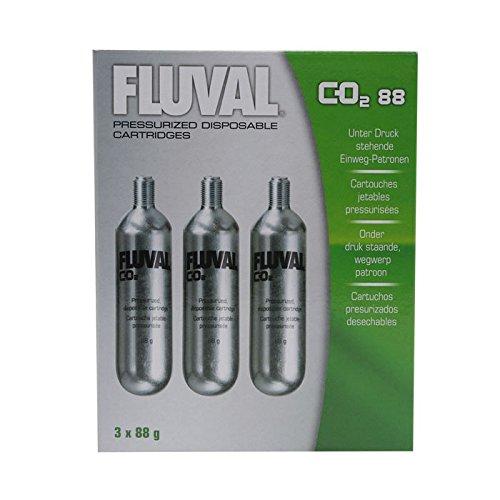 Fluval 88g-CO2 Disposable Cartridges - 3-Pack
