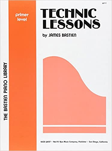 wp11 technic lessons primer level bastien piano library