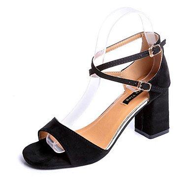 RTRY Sandalias Mujer Primavera Otoño Zapatos Club Comfort Novedad Pu Oficina Exterior &Amp; Carrera Parte &Amp; Traje De Noche Casual Chunky Heelgreen Amarillo US5.5 / EU36 / UK3.5 / CN35
