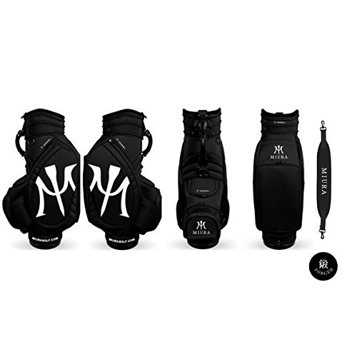 Miura Golf Limited Bag Tour Bag Black Collaboration with Vessel Golf 2018