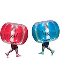 Adult Thunder Bubble Inflatable Soccer Suits