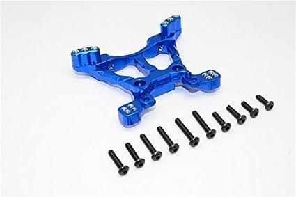 1Pr Set Blue Stampede 4X4 VXL Deegan 38 Fiesta St Rally Upgrade Pi/èces Aluminium Rear Knuckle Arm GPM Traxxas Slash 4X4