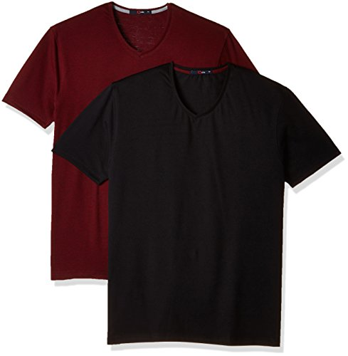 Qube By Fort Collins Men's T-Shirt (Pack of 2)