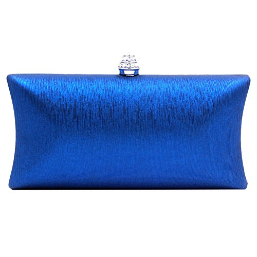 Evening Beau à blue main Ornaments pour Handbags Designer femme Rhinestones Bags Multicolor sac Party Zhhlaixing qwXSaBw