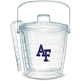 Tervis Air Force Falcons Logo Ice Bucket with Emblem and Clear Lid 87oz Ice Bucket, Clear