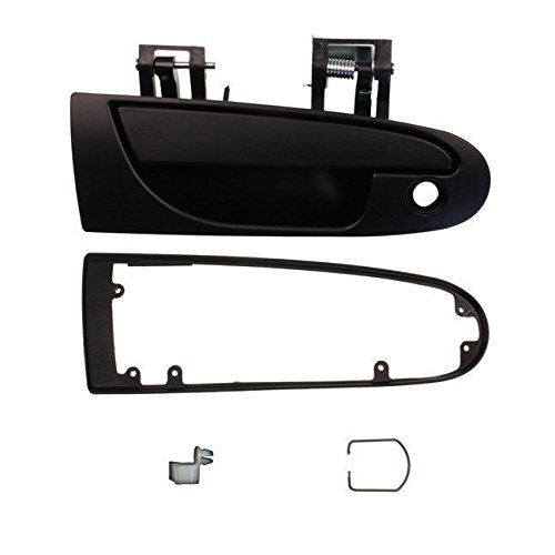1995-1999 Mitsubishi Eclipse, Eagle Talon 1995-2000 Dodge Avenger Chrysler Sebring Coupe 2 Door Outside Outer Exterior Black Door Handle Right Passenger Side (1995 95 1996 96 1997 97 1998 98 1999 99 2000 00)