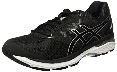 Asics GT 2000 4, Chaussures de Running Entrainement Homme Noir (Black/Noir Onyx/Silver)