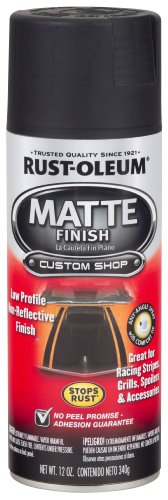 Rust-Oleum 263422 Automotive Enamel, Matte Black
