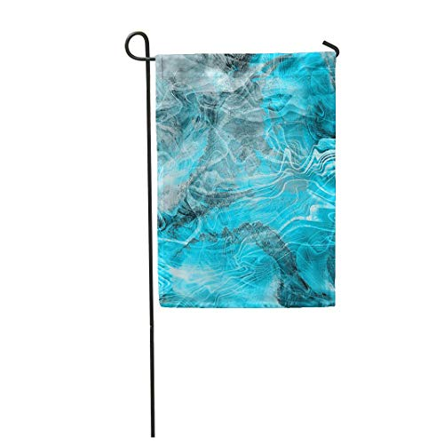 Tarolo Decoration Flag Colorful Agate Mineral Marble Colored Nacre Abstract Architecture Banded Bands Thick Fabric Double Sided Home Garden Flag 12