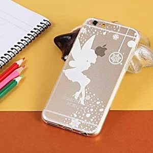 WQQ patrón decorativo patrón TPU transparente caso suave para el iphone 6