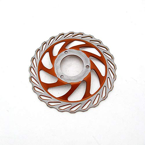 Manakayla Brake disc 230mm Diameter Iron Plate Silver ()