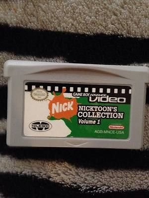 Nintendo Game Boy Advance Video Nicktoons Collection Volume 1 Cartridge Only